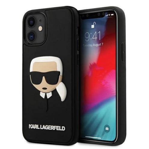 Coque Karl Lagerfeld® KLHCP12SKH3DBK iPhone 12 MINI Noir
