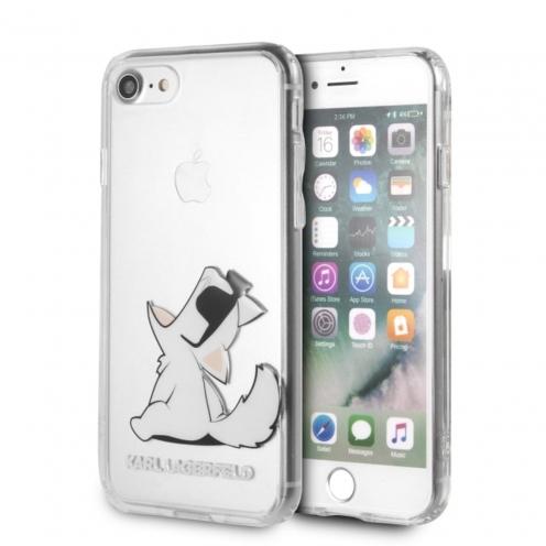 Coque Karl Lagerfeld® KLHCI8CFNRC iPhone 7/8 transparent