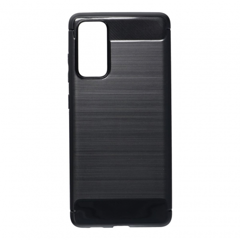 Forcell CARBON Coque Pour Samsung Galaxy S20 FE / S20 FE 5G Noir
