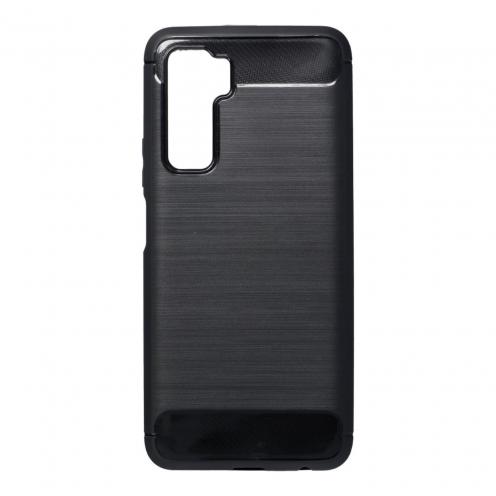 Forcell CARBON Coque Pour Huawei P40 Lite 5G Noir