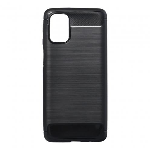 Forcell CARBON Coque Pour Samsung Galaxy M31s Noir