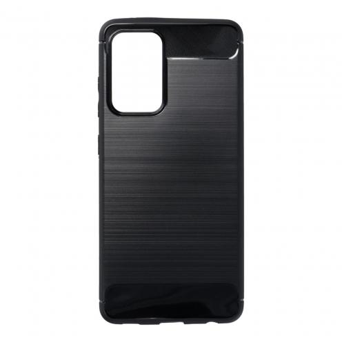 Forcell CARBON Coque Pour Samsung Galaxy A52 5G Noir