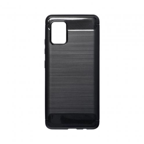 Forcell CARBON Coque Pour Samsung Galaxy A51 5G Noir
