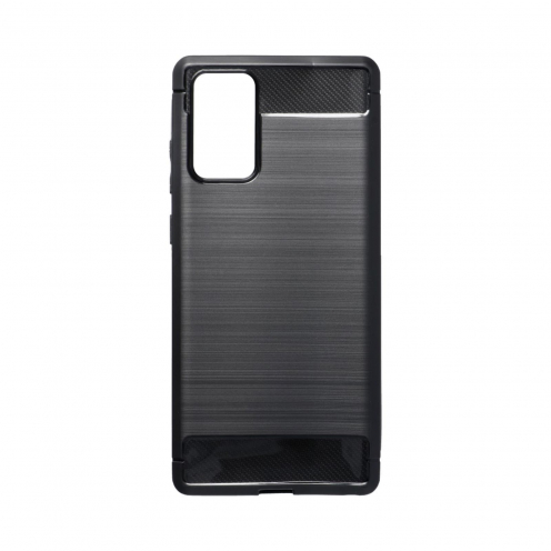 Forcell CARBON Coque Pour Samsung Galaxy NOTE 20 Noir