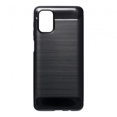 Forcell CARBON Coque Pour Samsung Galaxy M51 Noir