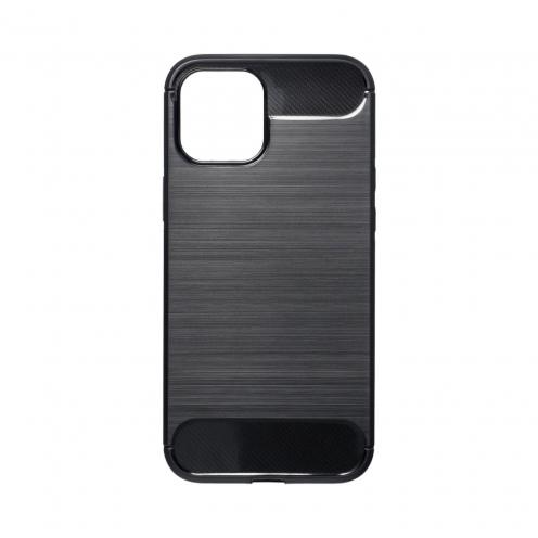 Forcell CARBON Coque Pour iPhone 12 PRO MAX Noir