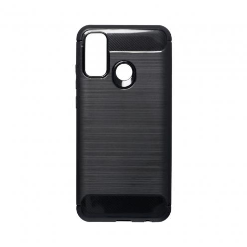 Forcell CARBON Coque Pour Huawei P Smart 2020 Noir