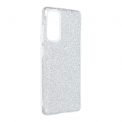 Forcell SHINING Coque Pour Samsung Galaxy S20 FE / S20 FE 5G Argent