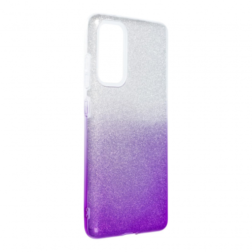 Forcell SHINING Coque Pour Samsung Galaxy S20 FE / S20 FE 5G clear/violet