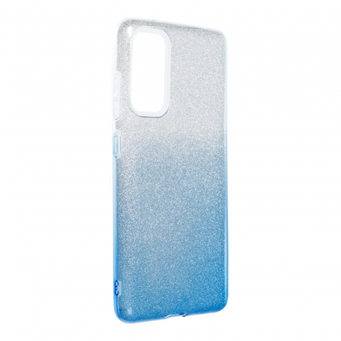 Forcell SHINING Coque Pour Samsung Galaxy S20 FE / S20 FE 5G clear/Bleu