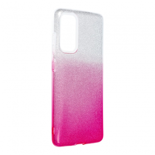 Forcell SHINING Coque Pour Samsung Galaxy S20 FE / S20 FE 5G clear/Rose