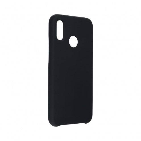 Forcell Silicone Coque Pour Huawei P20 Lite Noir