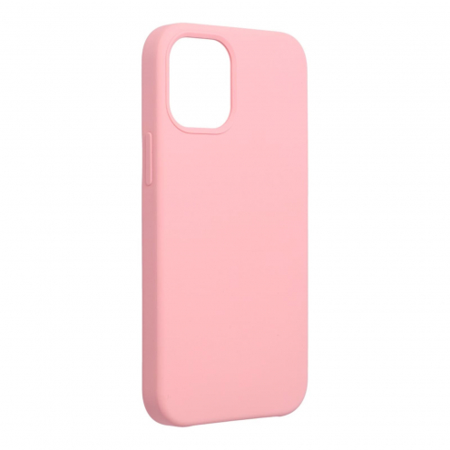 Forcell Silicone Coque Pour iPhone 12 MINI Rose