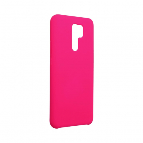 Forcell Silicone Coque Pour Xiaomi Redmi 9 hot Rose