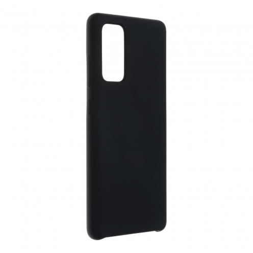 Forcell Silicone Coque Pour Samsung Galaxy S20 FE / S20 FE 5G Noir