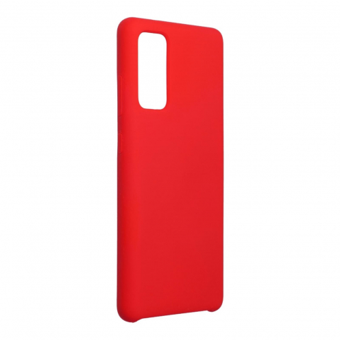 Forcell Silicone Coque Pour Samsung Galaxy S20 FE / S20 FE 5G Rouge