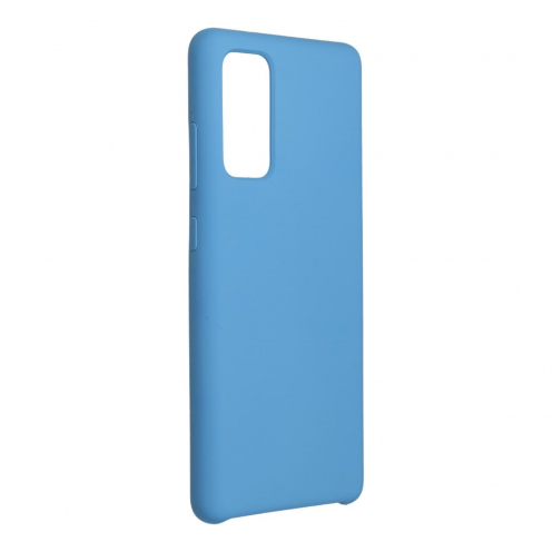 Forcell Silicone Coque Pour Samsung Galaxy S20 FE / S20 FE 5G Bleu Marine