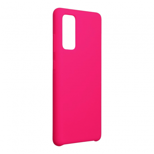 Forcell Silicone Coque Pour Samsung Galaxy S20 FE / S20 FE 5G hot Rose