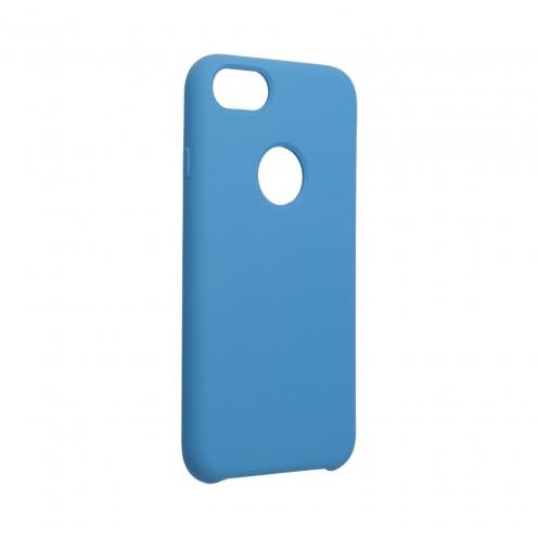Forcell Silicone Coque Pour iPhone 6 / 6S Bleu Marine (Avec Trou)