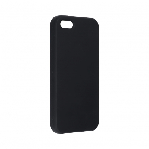 Forcell Silicone Coque Pour iPhone 5 / 5S / 5SE Noir