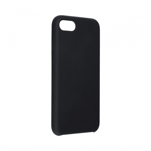Forcell Silicone Coque Pour iPhone 7 / 8 Noir