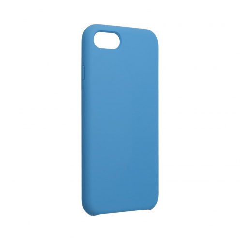 Forcell Silicone Coque Pour iPhone 7 / 8 Bleu Marine