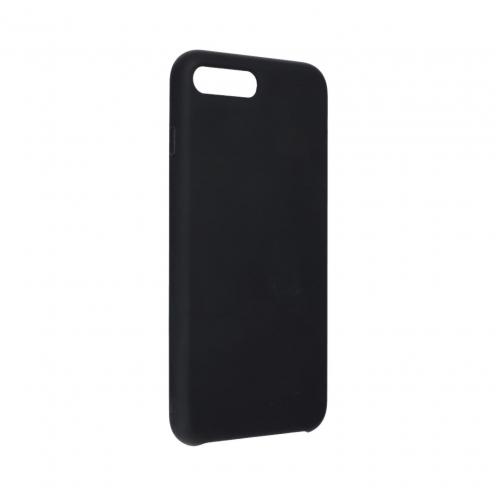 Forcell Silicone Coque Pour iPhone 7 PLUS / 8 PLUS Noir