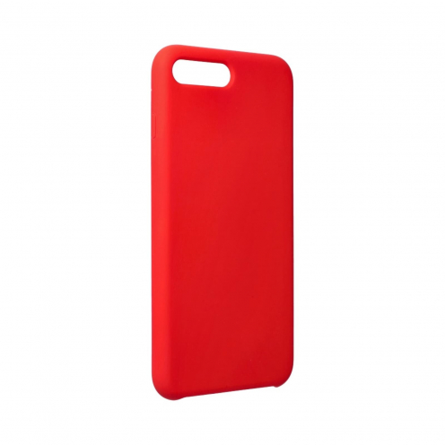 Forcell Silicone Coque Pour iPhone 7 PLUS / 8 PLUS Rouge