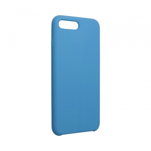Forcell Silicone Coque Pour iPhone 7 PLUS / 8 PLUS Bleu Marine
