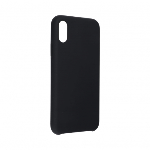 """Forcell Silicone Coque Pour iPhone XS ( 5,8"""" ) Noir"""
