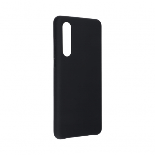 Forcell Silicone Coque Pour Huawei P30 Noir