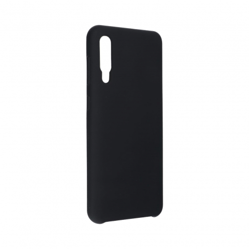 Forcell Silicone Coque Pour Samsung Galaxy A50 / A50S / A30S Noir