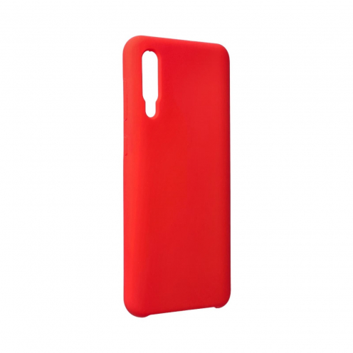 Forcell Silicone Coque Pour Samsung Galaxy A50 / A50S / A30S Rouge