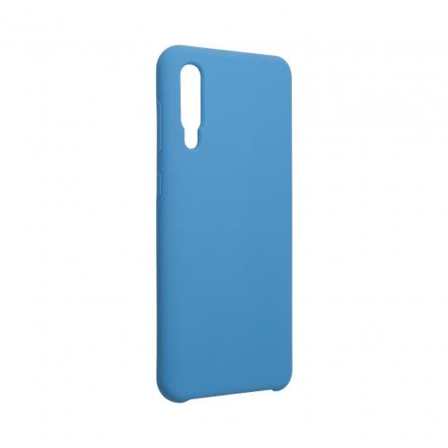 Forcell Silicone Coque Pour Samsung Galaxy A50 / A50S / A30S Bleu Marine