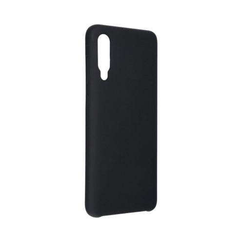 Forcell Silicone Coque Pour Samsung Galaxy A70 / A70s Noir