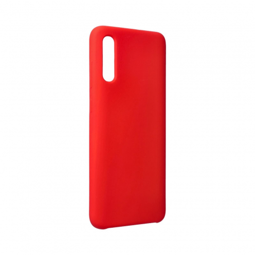 Forcell Silicone Coque Pour Samsung Galaxy A70 / A70s Rouge