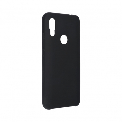 Forcell Silicone Coque Pour Xiaomi Redmi 7 Noir
