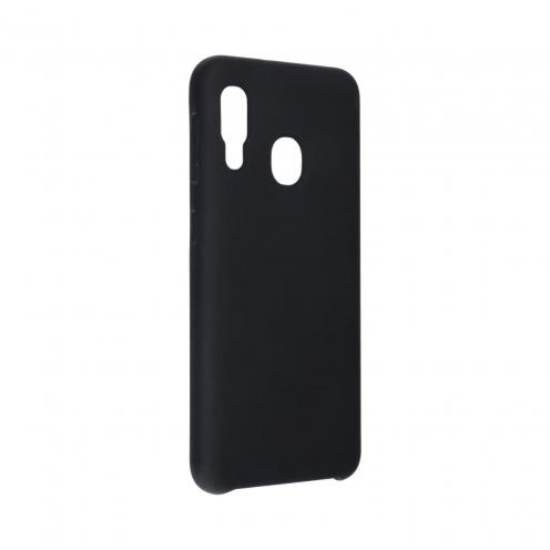 Forcell Silicone Coque Pour Samsung Galaxy A20E Noir