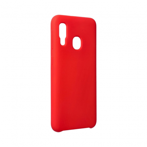 Forcell Silicone Coque Pour Samsung Galaxy A20E Rouge