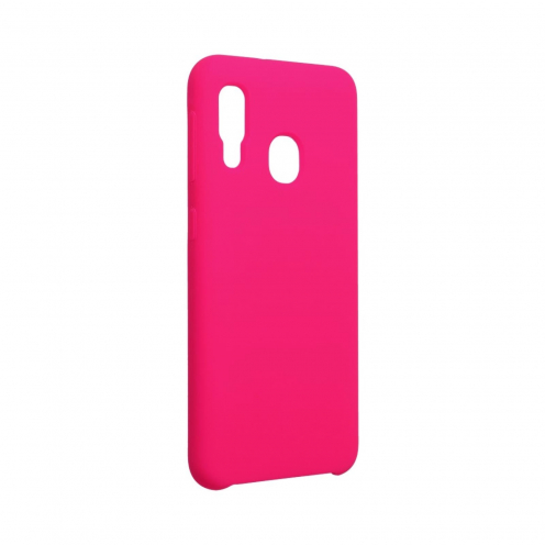 Forcell Silicone Coque Pour Samsung Galaxy A20E hot Rose