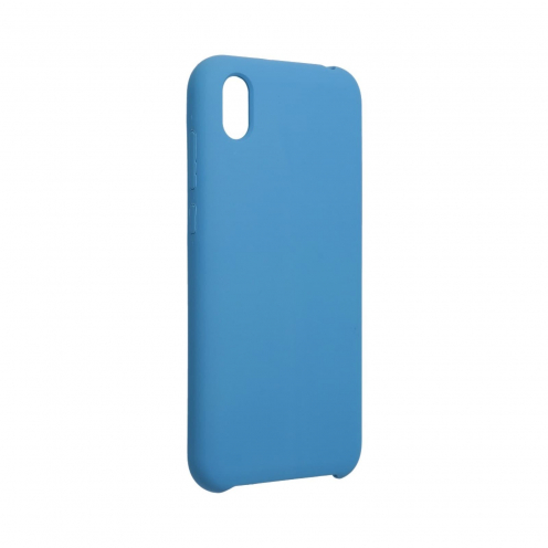 Forcell Silicone Coque Pour Huawei Y5 2019 Bleu