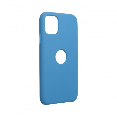 """Forcell Silicone Coque Pour iPhone 11 2019 ( 6,1"""" ) Bleu Marine"""