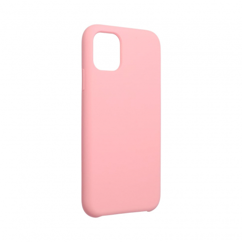 """Forcell Silicone Coque Pour iPhone 11 2019 ( 6,1"""" ) Rose (Avec Trou)"""