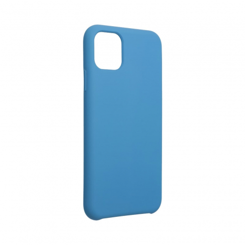 """Forcell Silicone Coque Pour iPhone 11 PRO MAX 2019 ( 6,5"""" ) Bleu Marine"""