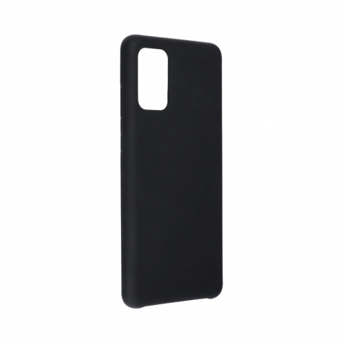 Forcell Silicone Coque Pour Samsung Galaxy S20 Plus / S11 Noir