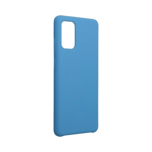 Forcell Silicone Coque Pour Samsung Galaxy S20 Plus / S11 Bleu Marine