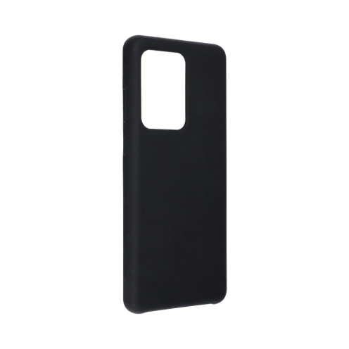 Forcell Silicone Coque Pour Samsung Galaxy S20 Ultra / S11 Plus Noir