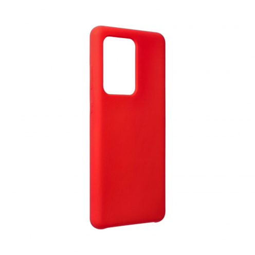 Forcell Silicone Coque Pour Samsung Galaxy S20 Ultra / S11 Plus Rouge