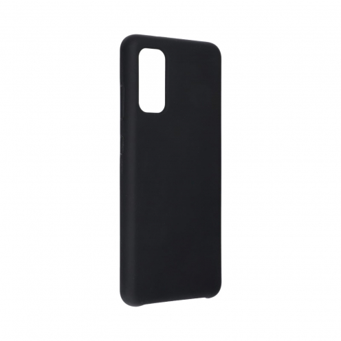 Forcell Silicone Coque Pour Samsung Galaxy S20 / S11e Noir
