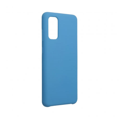 Forcell Silicone Coque Pour Samsung Galaxy S20 / S11e Bleu Marine
